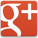 google plus red 128